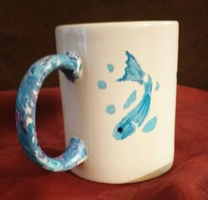 Fun coffee mugs hand crafted