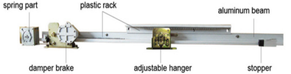 Semi-automatic sliding door closer