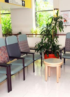 commercial cleaning for a doctors office waiting area in wichita
