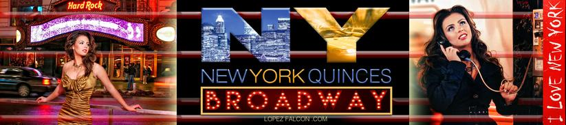 NEW YORK THEME BROADWAY QUINCEANERA PARTY THEME MIAMI QUINCES QUINCE PARTIES