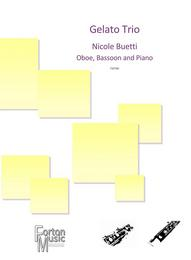 The Gelato Trio for Oboe (violin) Bassoon (Cello) and piano sheet music available here