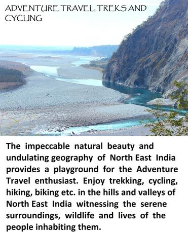 Adventure tours, trekking, cycling in Northeast India