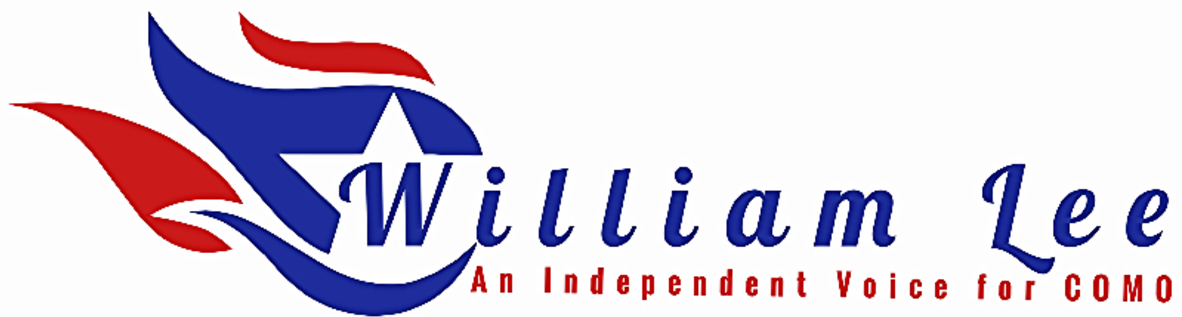 William Lee's logo for his run for the 45th district house seat in Columbia Mo. He is running as an independent and would appreciate your support. William pledges to make sure that every one of the constituents in his district will have the to call his office every day during the office hours that he will keep for that reason. William believes that better voter engagement is what is needed to fix the problems that exist today.