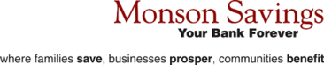 The Theatre Guild of Hampden is sponsored in part by Monson Savings