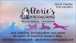 glories k9 coaching