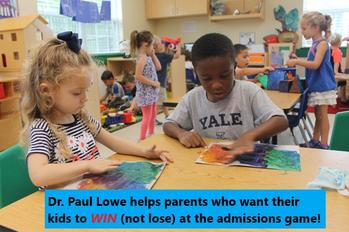 Dr Paul Lowe Admissions Expert Ivy League