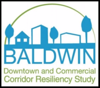 Baldwin Downtown and Commercial Corridor Resiliency Study site