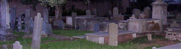 Haunted Charleston graveyard