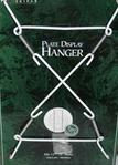 Wire plate hangers