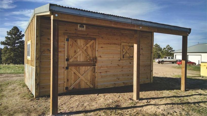 Tack room, western style, Storage Barn, Antique look, western barns