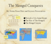 The Mongol Conquest PowerPoint