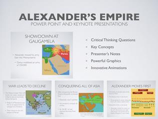 Alexander The Great's Empire History Presentation
