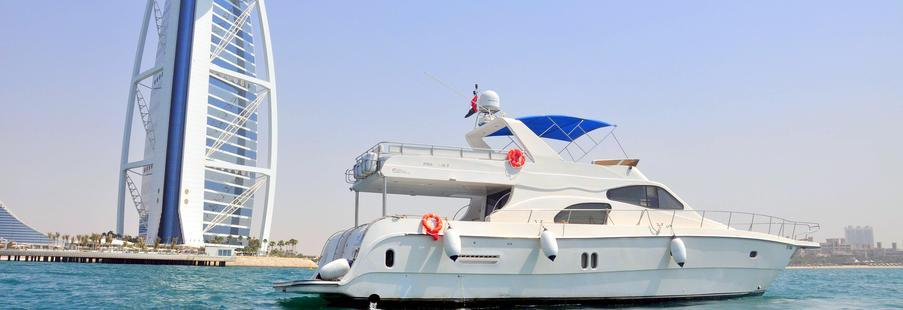 Amwaj Al Bahar 80 ft yacht Dubai - Dubai Yacht charter