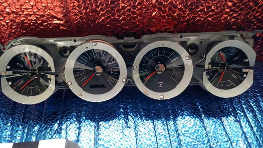 1966 Dodge Charger Gauges