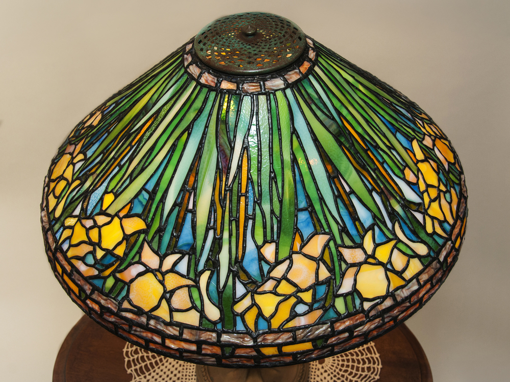 Stained glass lamp shades tiffany reproduction lampshades hand crafted tiffany reproductions have everlasting quality for your home or office aloadofball Images
