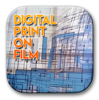 Solar Graphics Digital Print on Film logo button picture image