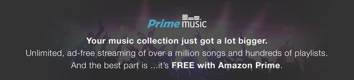Amazon Prime Music Trial