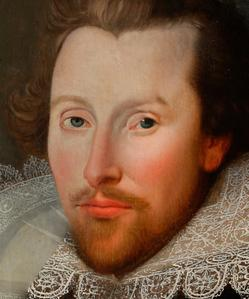 the cobbe-portrait of shakespeare-wadlow-cobbe-william shakespeare