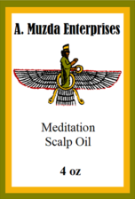 Meditation Scalp Oil