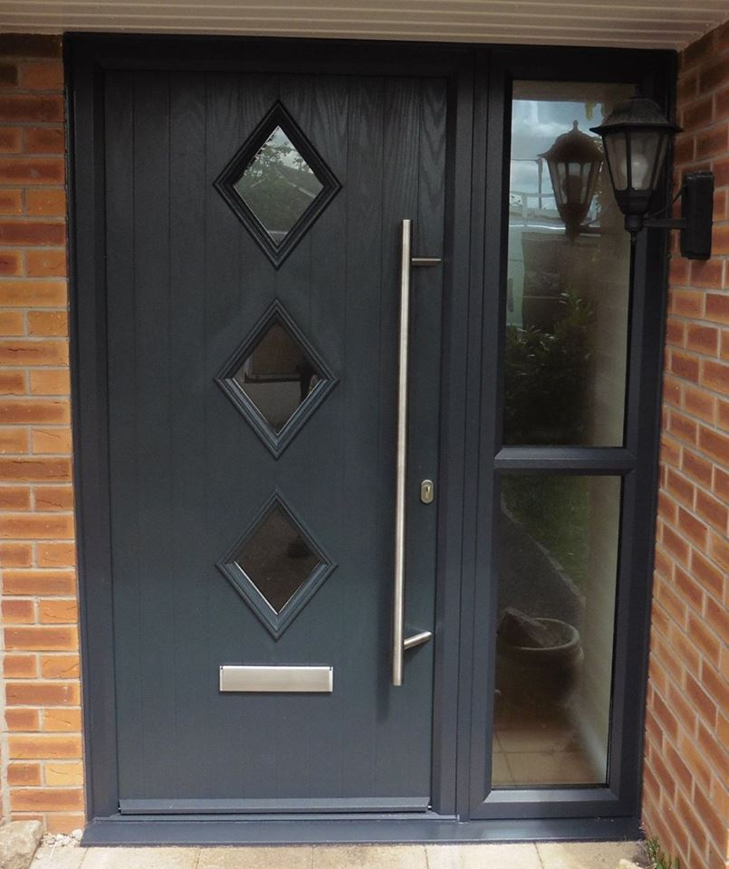 Composite Doors Installed From 630 Based In Mansfield