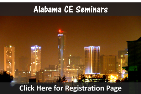 Alabama chiropractic ce seminars birmingham continuing education chiropractor seminar credits near mobile montgomery conference hours