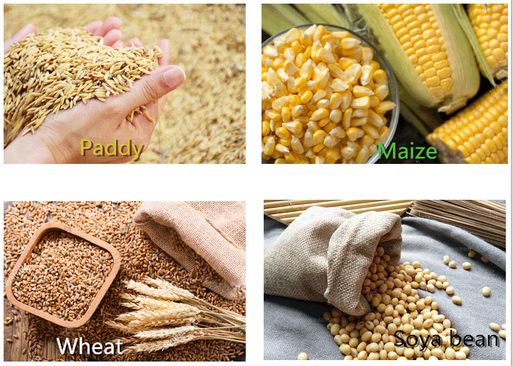 Grain moisture tester for maize milling machine