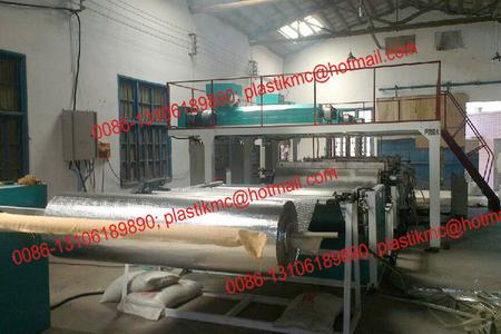 heat insulation bubble film machine