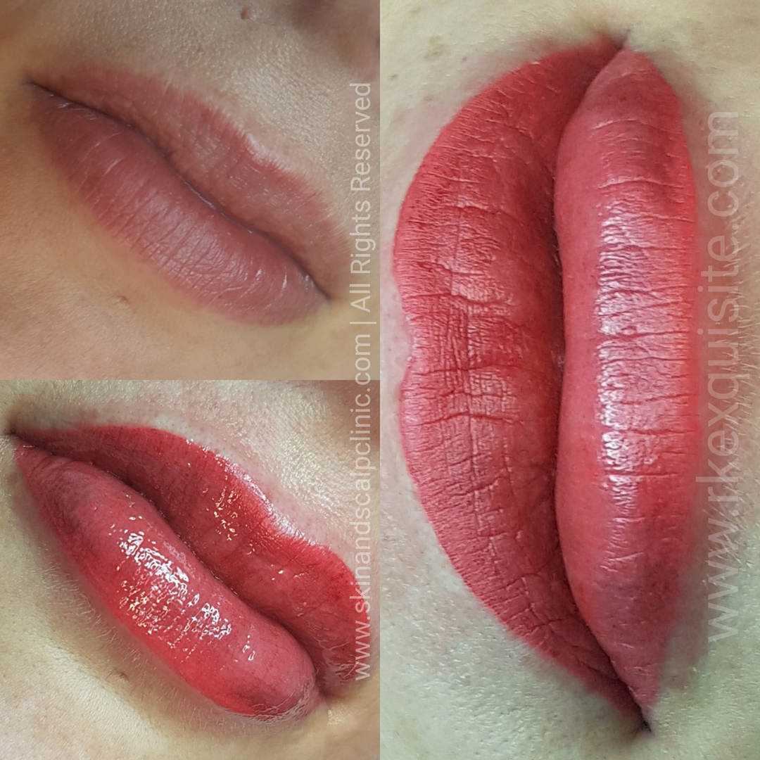 Award Winning SPMU Lip Tattoo Canterbury | Semi Permanent