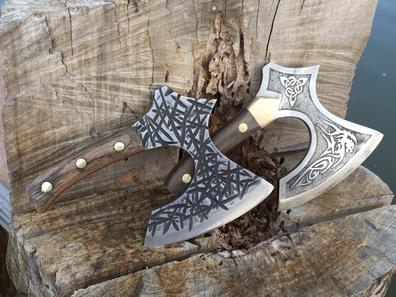 How to make a Viking or Celtic broad axe style kitchen cleaver. FREE step by step instructions. wwwDIYeasycrafts.com