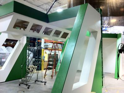 Trade Show Booth Construction Indoor