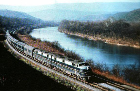 The Shenandoah.