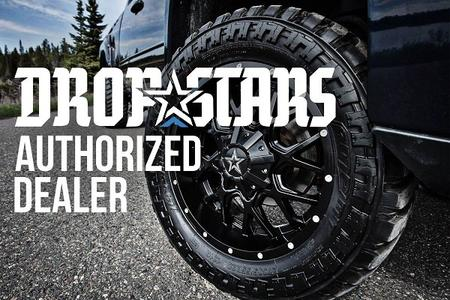 dropstars custom wheels Ohio - truck rims Ohio - Jeep wheel custom wheels Ohio - Akron Ohio black rims