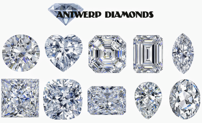 Loose Diamond Cuts - Antwerp Diamonds and Jewelry of Roswell Georgia