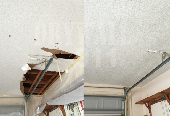Drywall Repair Services For Your Garage and Lanai Ceiling Repair