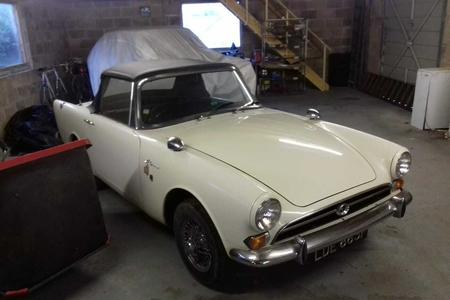 1968 SUNBEAM ALPINE SPORTS SERIES V UNBELIEVABLE 5337 MILES