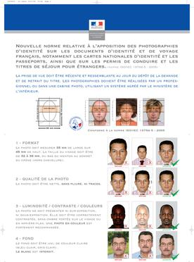 France Passport and Visa Photos Printed and Guaranteed