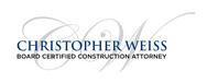 Christopher Weiss - Board certified Construction attorney Logo