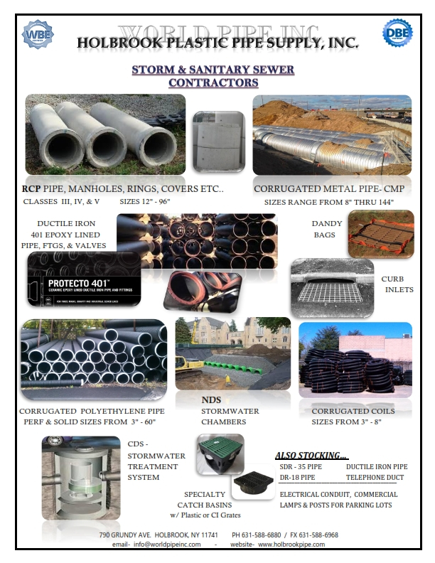 Holbrook Pipe Supply, Inc  - Pipe Supplier