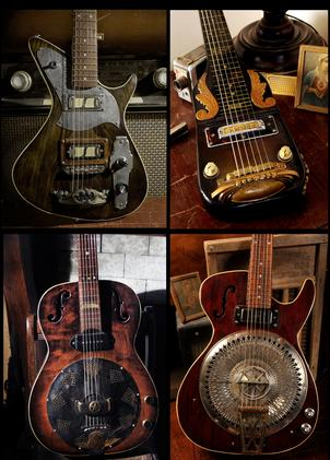 Prototype and one off custom guitars
