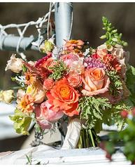 Freestyle Weddings Photography, On the Marsh Bistro, Kennebukport wedding, fall wedding, Maine wedding, Maine wedding florist, bridal bouquet, coral bridal bouquet, fall bridal bouquet