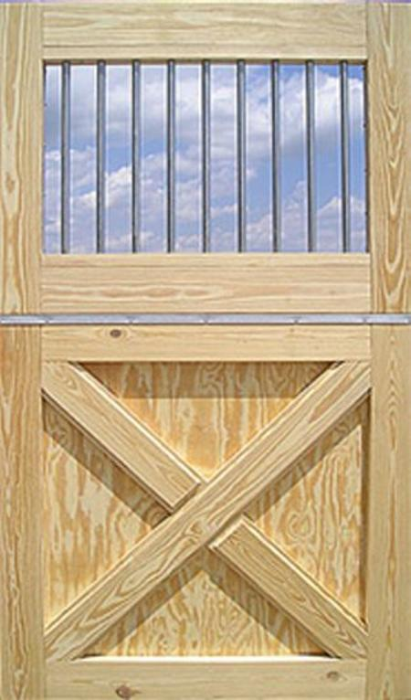Dutch door, solid wood, kick boards, stalls, dividers, gates, horse barn, alpaca sheds, storage shed, run-in shed, row barn