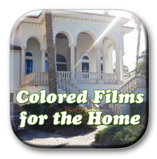 Solar Graphics Colored Films for the Home logo button picture image