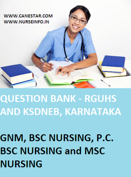 MSC SECOND YEAR NURSING QUESTIONS, RGUHS, INC
