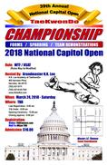 2018 National Capitol Open