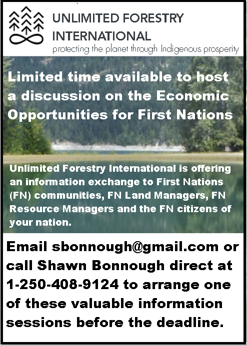 Unlimited Forestry Information Sessions