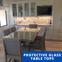 Glass Protective Table Tops