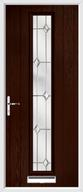 1 strip composite door regal opal glass