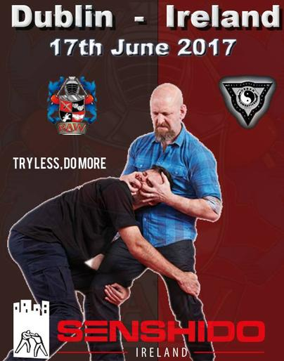 Self defence, richard Dimitri, Ireland, Protection, seminar, Dublin