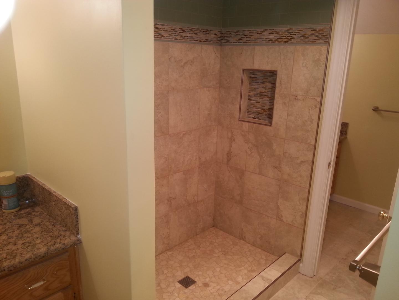 Interior Remodeling Portfolio - Bathroom remodeling chesapeake va