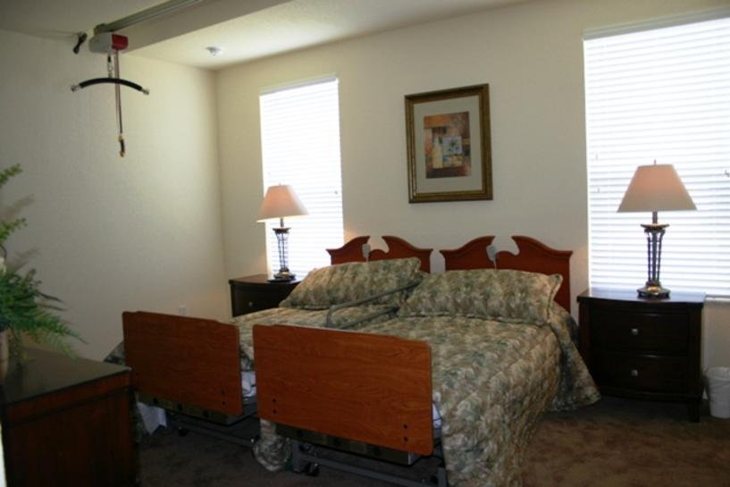 Wheelchair Accessible Master Suite